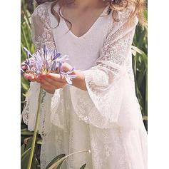 white flower girl dresses with petals
