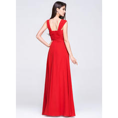 empire-line long evening dresses
