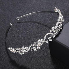 "Tiaras/Headbands Wedding/Special Occasion/Party Alloy 4.92""(Approx.12.5cm) 0.67""(Approx.1.7cm) Headpieces"