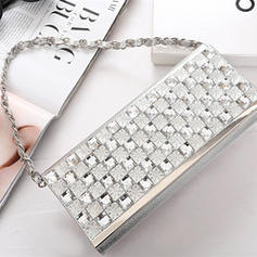 """Clutches Wedding/Ceremony & Party Crystal/ Rhinestone Elegant 9.65""""(Approx.24.5cm) Clutches & Evening Bags"""
