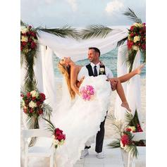 inexpensive ivory wedding dresses