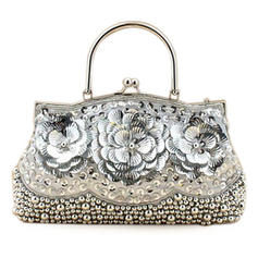 Wristlets/Fashion Handbags Wedding/Ceremony & Party Sequin Kiss lock closure Gorgeous Clutches & Evening Bags