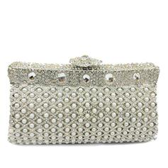 "Clutches/Luxury Clutches Wedding/Ceremony & Party Alloy Elegant 7.09""(Approx.18cm) Clutches & Evening Bags"