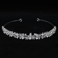 "Tiaras Wedding/Special Occasion Rhinestone/Alloy 5.53""(Approx.14cm) 0.87""(Approx.2.2cm) Headpieces"