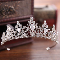 "Tiaras Wedding/Special Occasion/Party/Art photography Rhinestone/Alloy 1.57""(Approx.4cm) 4.92""(Approx.12.5cm) Headpieces"