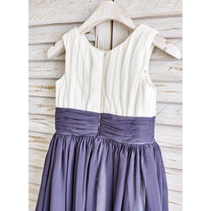 purple and black flower girl dresses