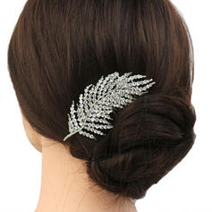 """Combs & Barrettes Wedding/Casual/Party/Art photography Rhinestone 3.74""""(Approx.9.5cm) 2.36""""(Approx.6cm) Headpieces"""