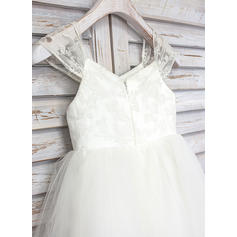 champagne lace flower girl dresses