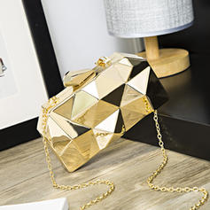 Clutches Wedding/Ceremony & Party Acrylic Push-lock frame closure Fashional Clutches & Evening Bags