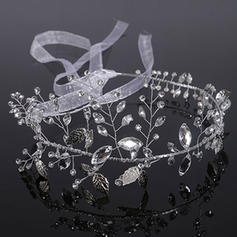 "Headbands Wedding Alloy/Imitation Pearls 15.75""(Approx.40cm) 3.94""(Approx.10cm) Headpieces"