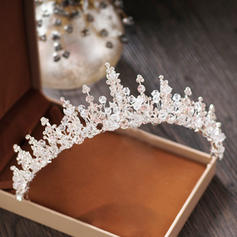 "Tiaras Wedding/Special Occasion/Party Crystal/Rhinestone/Alloy 2.17""(Approx.5.5cm) 5.51""(Approx.14cm) Headpieces"
