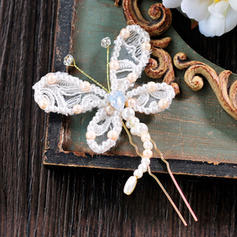 "Hairpins Wedding/Special Occasion/Casual/Outdoor/Party/Carnival/Art photography Lace 3.74""(Approx.9.5cm) Beautiful Headpieces"