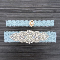 Garters Bridal Wedding Lace With Rhinestone/Lace Garter