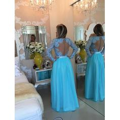 blue knee length prom dresses