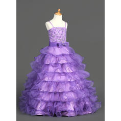 long sleeve tulle flower girl dresses