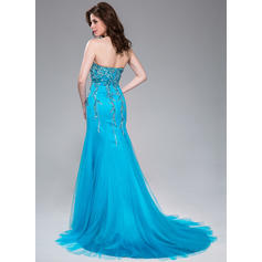 red mermaid prom dresses 2020