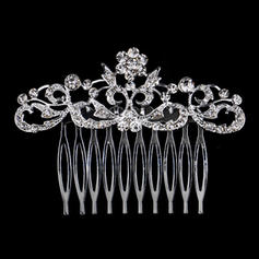 """Combs & Barrettes Wedding/Party Rhinestone/Alloy 3.15""""(Approx.8cm) 2.36""""(Approx.6cm) Headpieces"""