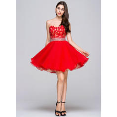 side cut out short homecoming dresses