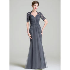 Trumpet/Mermaid Sweetheart Floor-Length Mother of the Bride Dresses With Ruffle