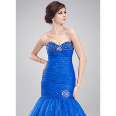 blue jeweled prom dresses with sleeves