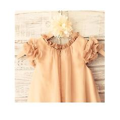 cheap modest flower girl dresses