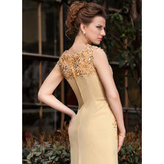 elegant mother of the bride dresses in gold