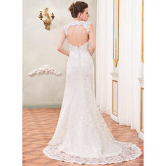 wedding dresses cheap plus size illusion