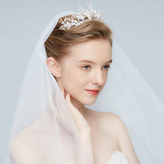"Tiaras Wedding/Special Occasion/Art photography Alloy 9.06""(Approx.23cm) 1.97""(Approx.5cm) Headpieces"