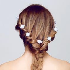 "Hairpins Wedding/Outdoor/Party/Art photography Alloy/Fabric 3.15""(Approx.8cm) 0.98""(Approx.2.5cm) Headpieces"