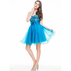 chiffon short homecoming dresses