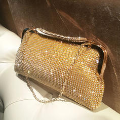 "Clutches/Satchel Ceremony & Party Crystal/ Rhinestone Shining 9.45""(Approx.24cm) Clutches & Evening Bags"