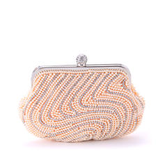 """Clutches Ceremony & Party Imitation Pearl Attractive 8.27""""(Approx.21cm) Clutches & Evening Bags"""