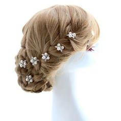"""Hairpins Special Occasion/Outdoor/Party Alloy 2.76""""(Approx.7cm) 0.98""""(Approx.2.5cm) Headpieces"""