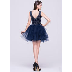 knee length homecoming dresses with sleeves