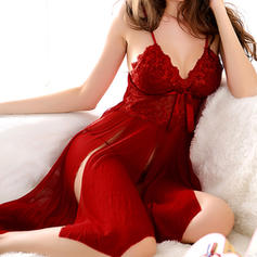 Sleepwear Sets Casual/Wedding/Special Occasion Bridal/Feminine/Fashion Chinlon Classic Lingerie