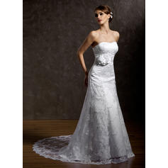 cheap lace beach wedding dresses