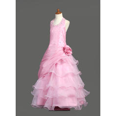 pink flower girl dresses 4t