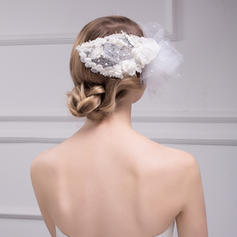 Fascinators Wedding/Special Occasion Rhinestone/Imitation Pearls/Lace Gorgeous Headpieces