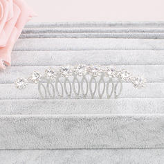 """Combs & Barrettes Wedding/Special Occasion/Party Crystal 2.99""""(Approx.7.6cm) 1.69""""(Approx.4.3cm) Headpieces"""