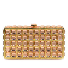 Clutches/Luxury Clutches Wedding/Ceremony & Party Acrylic Clip Closure Unique Clutches & Evening Bags
