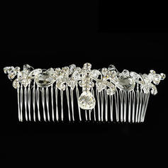 "Combs & Barrettes Wedding/Special Occasion Alloy 5.12""(Approx.13cm) 1.57""(Approx.4cm) Headpieces"