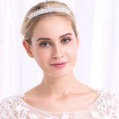 """Tiaras Wedding/Special Occasion/Party Alloy 5.12""""(Approx.13cm) 0.98""""(Approx.2.5cm) Headpieces"""