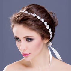 "Headbands Wedding/Special Occasion/Party Rhinestone/Silver Plated 12.60""(Approx.32cm) 0.78""(Approx.2cm) Headpieces"