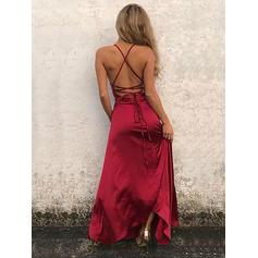 2 piece long prom dresses cheap