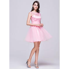 cheap pink short homecoming dresses