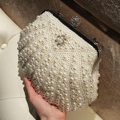"""Clutches/Satchel/Totes Ceremony & Party Imitation Pearl Elegant 11.02""""(Approx.28cm) Clutches & Evening Bags"""