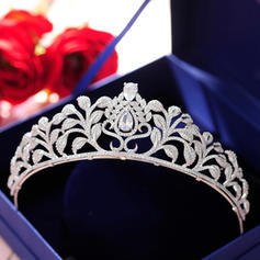 "Tiaras Wedding/Special Occasion/Party Alloy 1.77""(Approx.4.5cm) 5.51""(Approx.14cm) Headpieces"