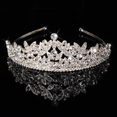 """Tiaras Wedding/Special Occasion/Party Rhinestone/Alloy 1.97""""(Approx.5cm) 6.3""""(Approx.16cm) Headpieces"""
