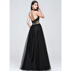 one shoulder crystal beaded prom dresses