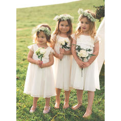 boho flower girl dresses dusty blue